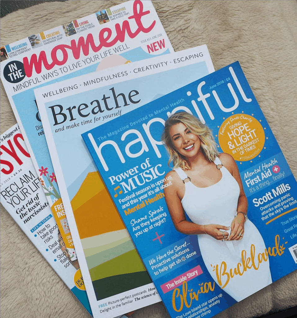 """Women-s Mental Health Centre on Instagram- """"Taking a break and getting some fresh air--- who knew there were so many mindfulness magazines to choose from now--"""" 14-11-2020 14-25-50"""